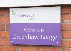 Greenhaw Welcome Sign