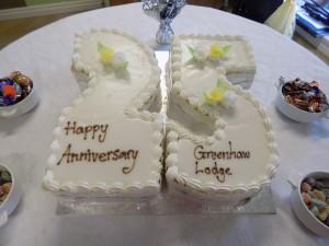 Greenhaw 25 Year Celebration Cake